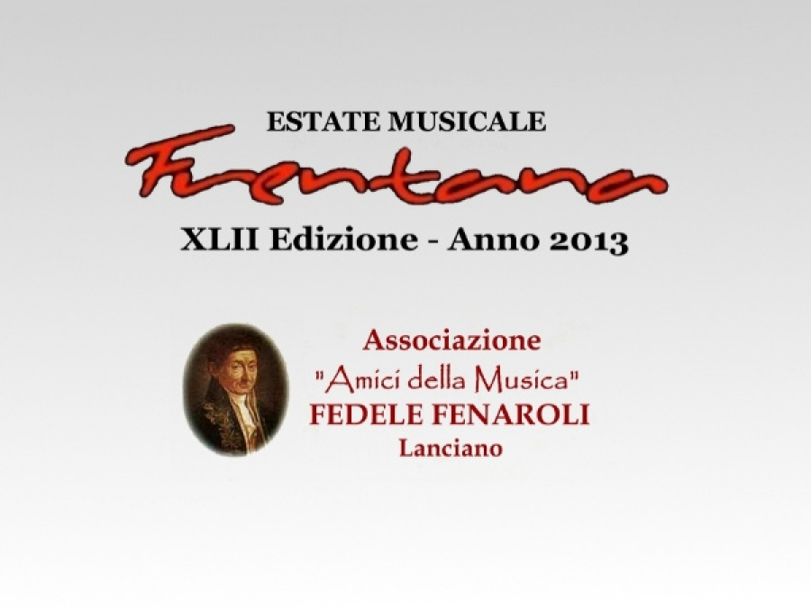 Estate Musicale Frentana 2013