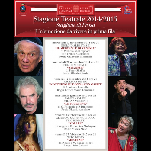 Stagione Teatrale 2014/2015