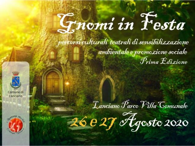 Gnomi in festa - Lanciano 26/27 agosto 2020