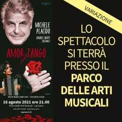 Amor y Tango - 16 agosto ore 21 - Parco delle Arti Musicali